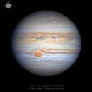 Jupiter 25 Aug 2020 - 43 Min WinJ Animation,                                Seb Lukas