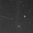 M64 Testexposure satelite track'ed,                                Anton Karl Seewal...