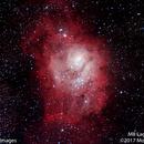 M8 Lagoon Nebula #4,                                Molly Wakeling