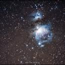 M42 + M43 + NGC1977,                                firstLight