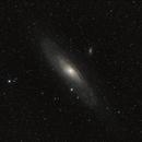 M 31 - galaxie Andromède,                                Gérard Nonnez