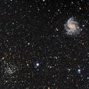 NGC 6946 and NGC 6939,                                Charles Harris