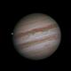 Jupiter with Ganymede 5-9-16,                                chuckp