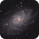 Messier 33 Revisited (DSLR + CCD),                                SpacemanSpiff