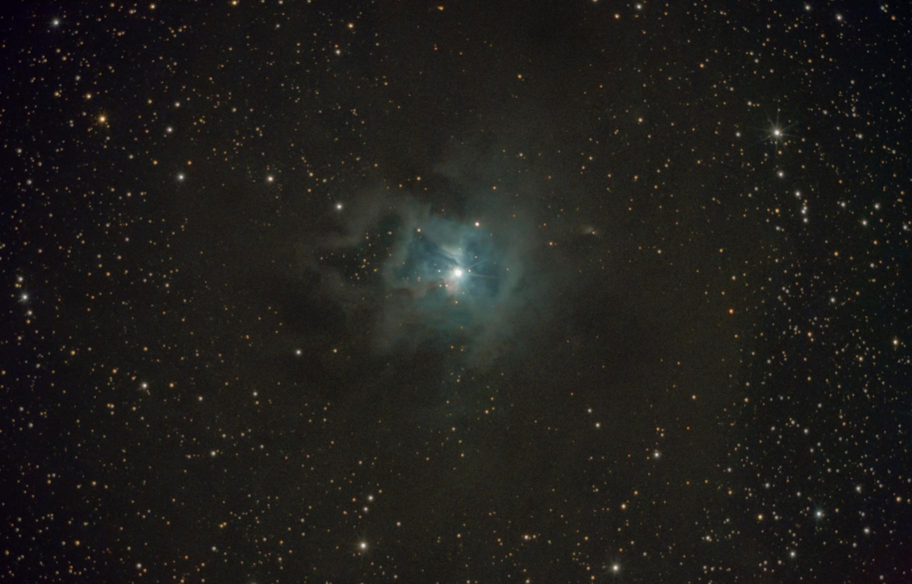 NGC 7023, Iris Nebula,                                Sergey