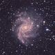 NGC 6946 Fireworks Galaxy  HaLRGB,                                Brandon Tackett