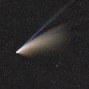 Comet Neowise from La Bréole - Samyang 135 F/2.2,                                Emmanuel Fontaine
