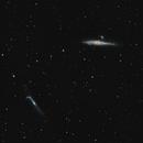 Whale and Hockey stick galaxies,                                Corentin Martine
