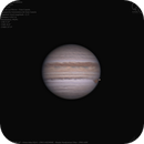 Jupiter and Io occultation,                                Massimiliano Vesc...