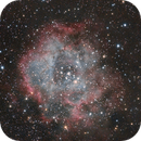 Rosette with normal dSLR and no filters,                                TStew