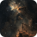 IC 1805, The Heart of the Heart Nebula,  Melotte 15,                                Steven Bellavia
