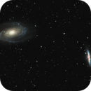 Bode Galaxy (M81) and Cigar Galaxy (M82),                                Olivier Ravayrol