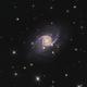 NGC 5905 and NGC 5908,                                Lyn Peterson