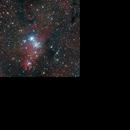 NGC2264 LRGB,                                Andreas Zirke