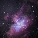 M16 Nebula Aguia 05.06.2021 ASI294mc-pro,                                Wagner
