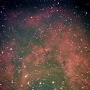 NGC 2237 Rosette Nebula with Atik Infinity Live CCD,                                Dave