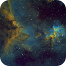 IC1805 Center of Heart Nebula in SHO,                                Mathias Radl