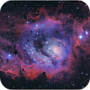Lagoon Nebula - M8,                                Tiago Ramires Domezi