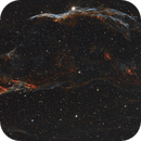 NGC 6960 Western Veil (Witches Broom) and Pickering's Triangle, NGC 6979,                                Andy Rattler Brown