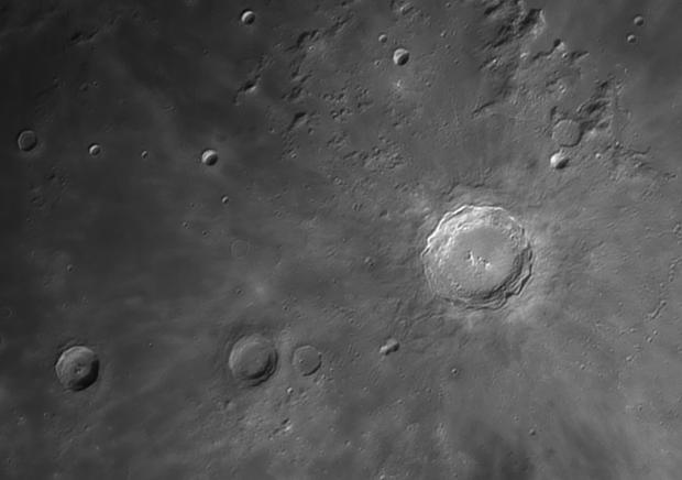 Copernicus - Reinhold - Lansberg craters,                                Euripides