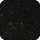 Bubble Nebula and its Region of space (camera test),                                frankszabo75