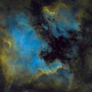 NGC7000 SHO Starless,                                Erik Guneriussen