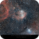 The Gabriela Mistral Nebula (NGC 3324) and the Gem Cluster (NGC 3293) in Carina,                                Paul Baker
