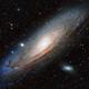 M31 - HALRGB (31mm filter test),                                Paddy Gilliland