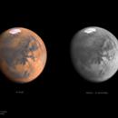 MARS - 14.08.2020  -  R(RGB) vs MONO (R) versions,                                Łukasz Sujka