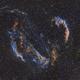 Veil Nebula Complex in Cygnus: SHO Narrowband,                                Jonas Illner