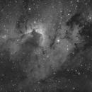 SH2-155 Cave Nebula HA,                                Erik Guneriussen