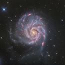 Messier 101,                                James Schrader