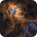 SH2-132 - The Lion Nebula,                                Jason Wiscovitch