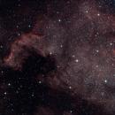 NGC7000 - The America Nebula (L-RGB),                                Olivier Ravayrol