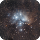 M45 with new QHY128C,                                Tim Gillespie