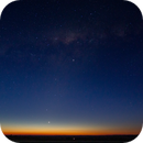 Four planets at Sunset,                                Geoff Scott