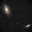 M81 and M82 on Lacerta 250,                                Piet Vanneste