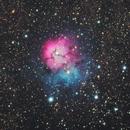 Trifid Nebula - M20,                                clexdigital