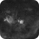 Orion H alfa, Wide Field,                                Cyril NOGER