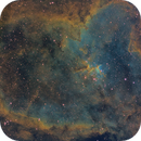 Heart Nebula - QHY600 - Esprit 150 - SHO,                                Eric Walden