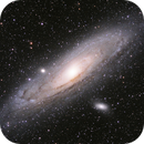 "Andromeda Galaxy M31: ""second light"" with TS 61EDPH II,                                Doc_HighCo"
