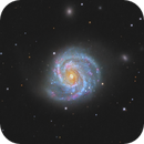 M100 (Blowdryer/Mirror Galaxy),                                Chris Sullivan