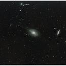 2017 - SPRING - M81 & M82 & NGC2076 & NGC3077,                                Axel
