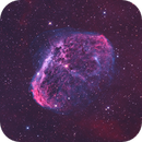 NGC6888 The Crescent Nebula in Bicolor,                                Christopher Gomez