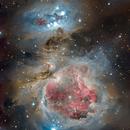 Orion and Flame nebula,                                Zoran Vidrih