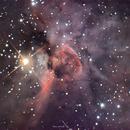 Keyhole Nebula (f/20),                                Todd