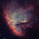NGC281 - HOO version,                                Arnaud Peel