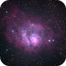 Lagoon Nebula First Attempt,                                Aleksandar Rudic