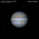 Jupiter on 1/22/17 with C8 under excellent seeing,                                Damien Cannane