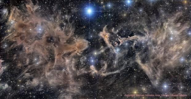 LBN 552 Molecular Cloud Complex In Cepheus Constellation,                                Utkarsh mishra
